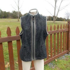Woolrich Vest Onyx Heather Size Medium